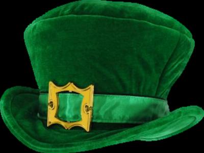 sombrero san patricio