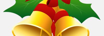 Plantilla de campanas para Navidad PSD