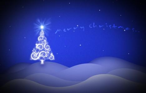 Plantilla Psd De Poster De Navidad Plantilla