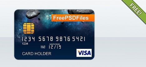 Plantilla de tarjeta de crédito para ecommerce o pagos online