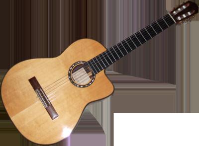 Plantilla de guitarra para Photoshop PSD