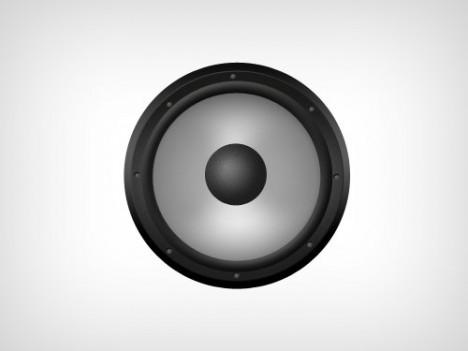 Plantilla de Speaker PSD