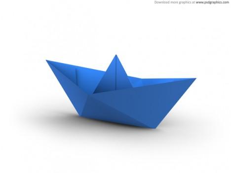 origami un barco