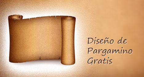 Plantilla De Pergaminos Gratis Plantilla