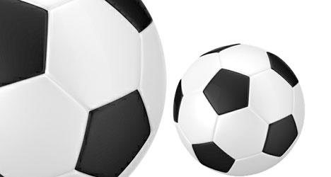Plantilla De Pelota De Fútbol Plantilla