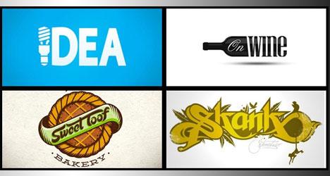 35+ Diseños de Logos Tipográficos