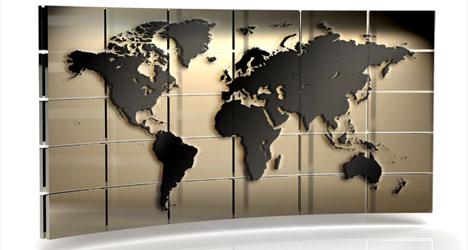 Plantilla de Mapa 3D para Photoshop  Plantilla