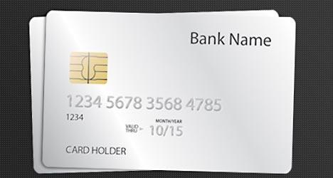 Plantilla de Tarjeta de Crédito para Photoshop Gratis
